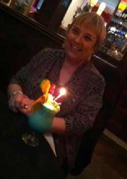 happy birthday to this lovely lady and thank you once again for celebrating with Indian night